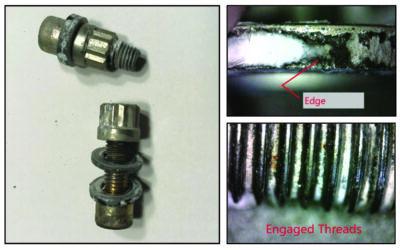 RHINO Aluminum locknuts pass salt fog corrosion tests